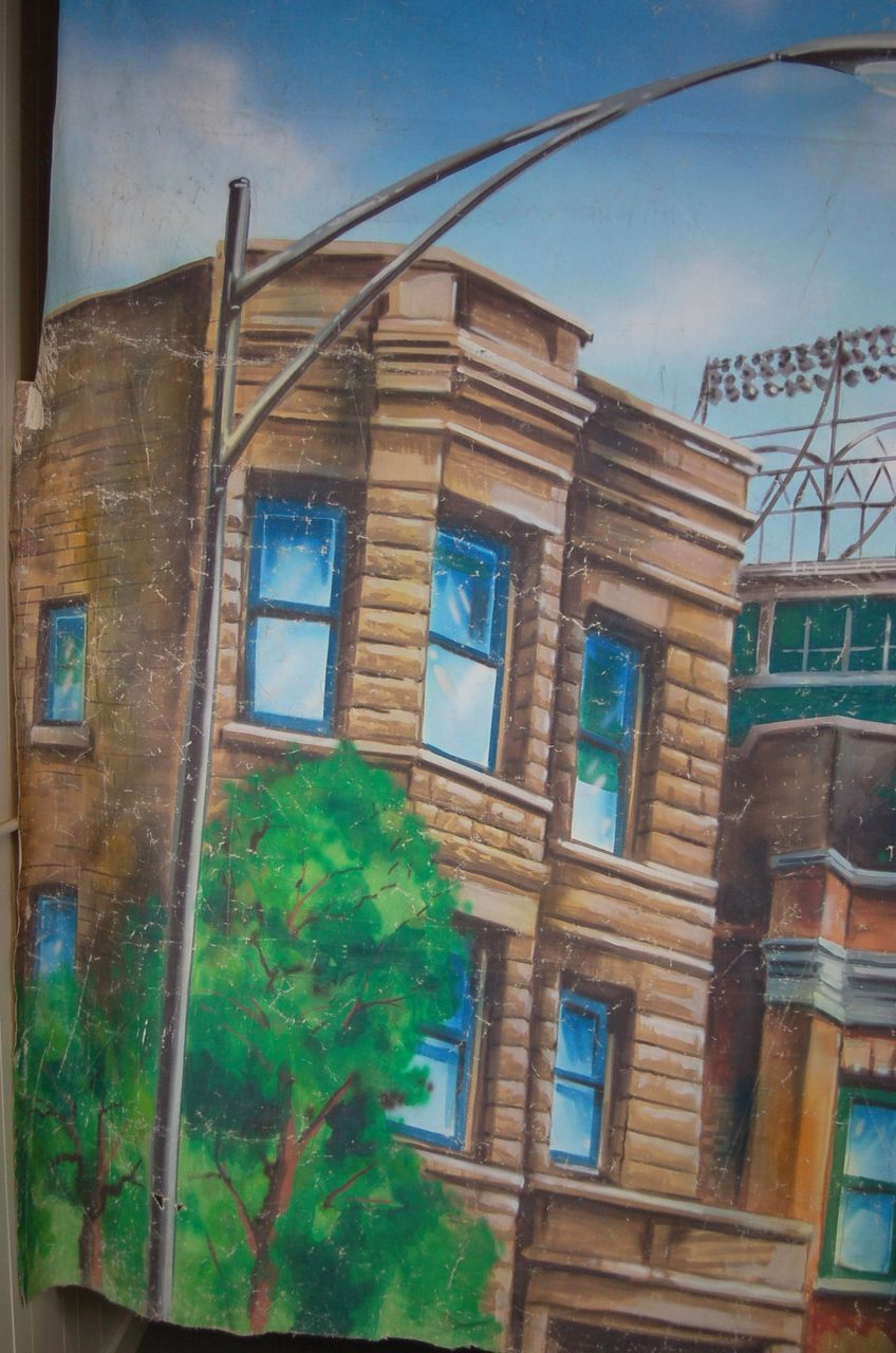Massive wrigley field wrigleyville chicago painting on canvas roll over large image to magnify click large image to zoom amipublicfo Gallery