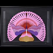 "Erte Art Deco ""Phoenix Triumphant"" Limited Edition Serigraph Signed Numbered"