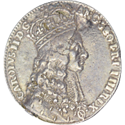 Charles II Official Silver Royal Coronation Medal 1661