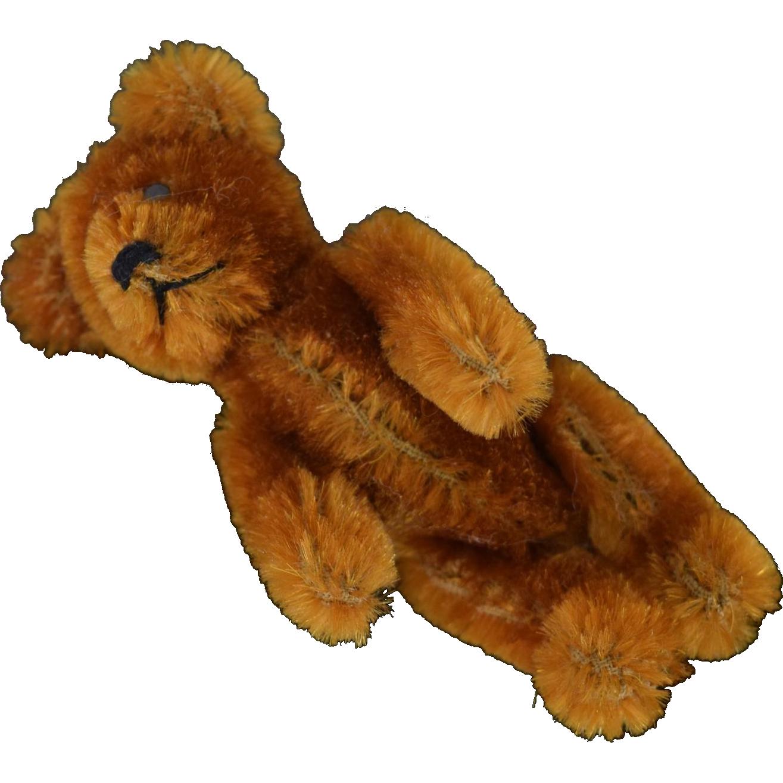 German Schuco Janus Two-Faced Swivel Head Mohair Bear