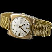 Vintage 1975 Hamilton Auto Date Explorer Self-Winding Men's Wrist Watch