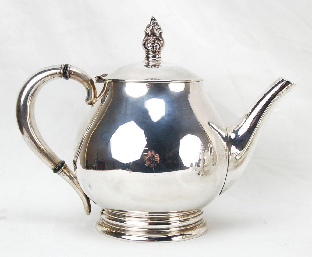International Royal Danish 5pc Sterling Silver Tea Coffee