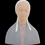 Amish PA Dutch Plain People Art Pottery Sculpture Maxime Ewertz