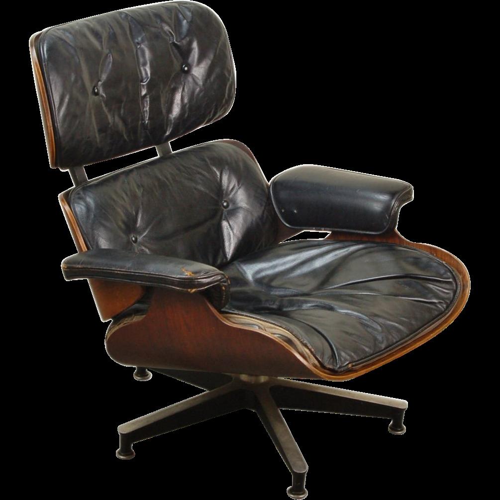 Vintage eames lounge chair - Vintage Original Mid Century Modern Herman Miller Eames 670 Lounge Chair