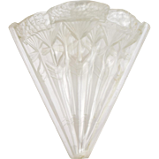 Vintage Art Deco Frosted Glass Replacement Slip Shades Sconce Chandelier