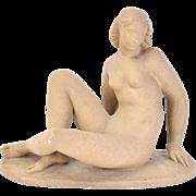 Art Deco Depression Era Sculpture of Nude Woman after Waylande Gregory