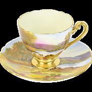 Shelley English China Friars Cragg Crag Keswick Cup & Saucer Set