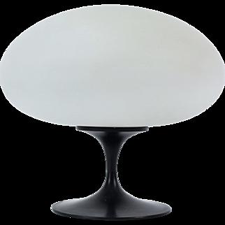 Vintage Mid-Century Modern Laurel Table w Mushroom Shade