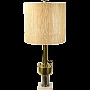 Vintage Stiffel Mid-Century Modern Modernist Urn Brass Lamp