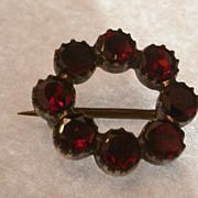 Antique Tourmaline Brooch