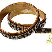 Jules Van Rouge Runway couture Bracelets  Vogue Front Cover
