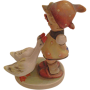Vintage M.J. Hummel 'Girl with Geese' Figurine Hallmarked