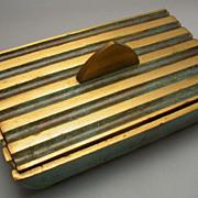 Vintage  Israeli Brass Box hallmarked Pal Beel
