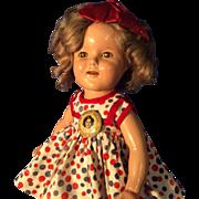 Nice Shirley Temple doll original pin.