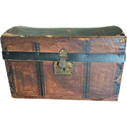 Antique Doll Trunk