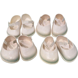 Doll shoes plastic