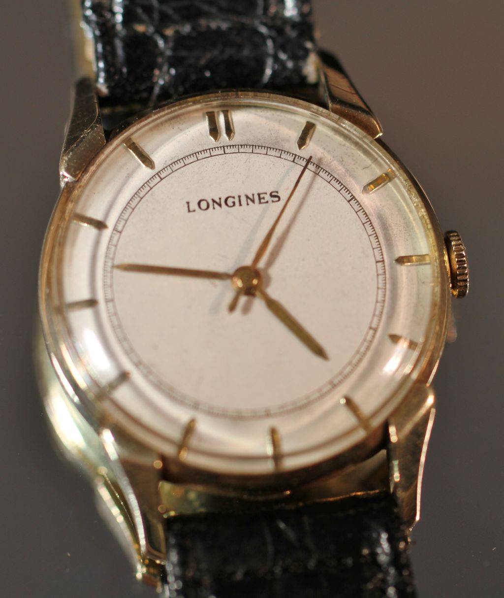 1948 longines 14k gold s vintage from