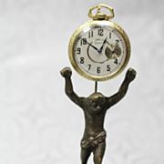 Brass Pocket Watch Stand