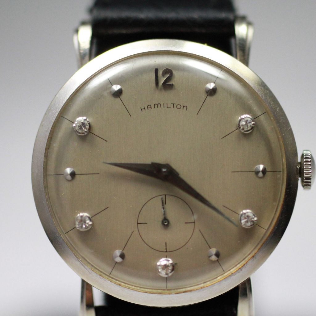 s watch hamilton zhamilton vintage gold watches