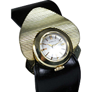 Vintage Gubelin Women's Watch, 18K Solid Gold with Six Interchangeable Bands