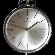 Vintage Gubelin  Swiss Pocket Watch Near Mint Condition