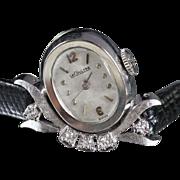 1963 Le Coultre Vintage Diamond Ladies Watch