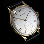 1955  Vintage Zenith 18K Gold  Watch