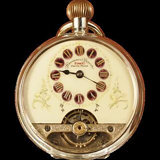 Schild & Cie Hebdomas Pocket Watch Circa 1916 to 1920
