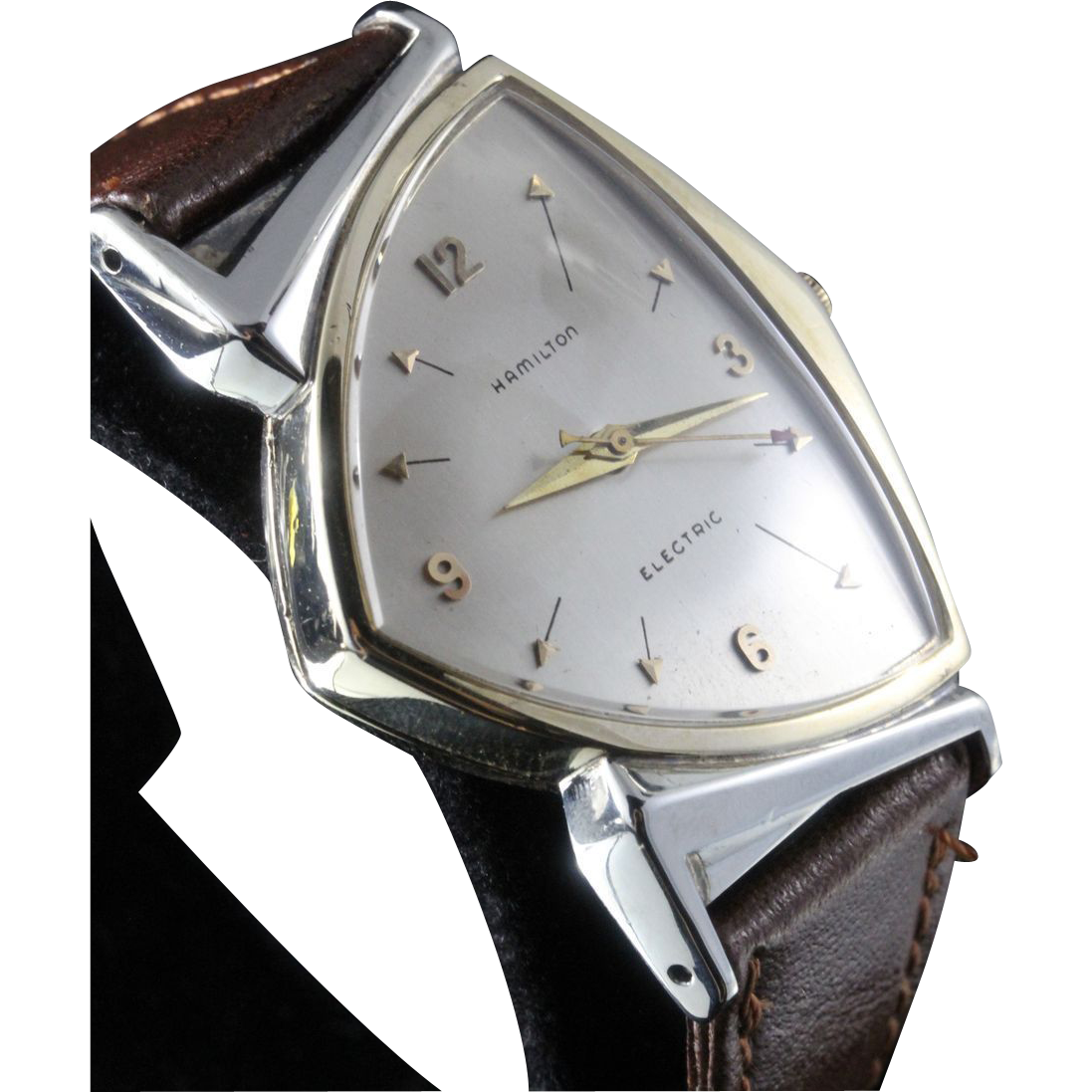 1958 Hamilton Pacer Electric Vintage Men's Watch SOLD on ...
