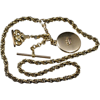 Spectacular Pocket Watch Chain