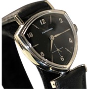 Hamilton Thor Black Dial Vintage Men's Watch