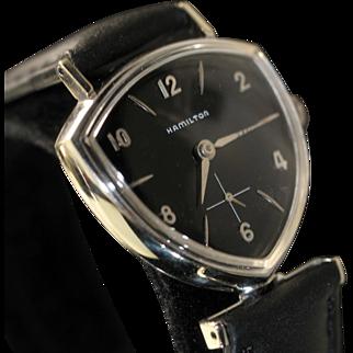 Hamilton Thor Black Dial Vintage Men's Watch