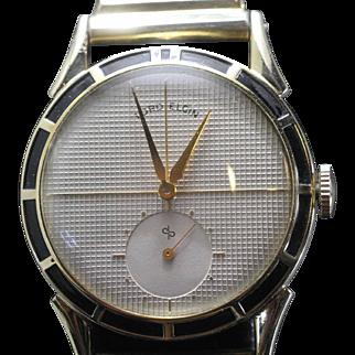 1951 Lord Elgin with Enameled Bezel Vintage  Men's Watch
