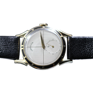 1951 Lord Elgin with Enameled Bezel Vintage  Watch