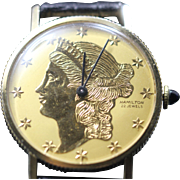 1969 Hamilton Liberty Coin Watch