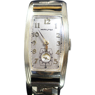 "HAMILTON  Linwood Curvex Vintage 14k Yellow Gold Filled ""Beautiful Watch"""