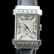 Hamilton 1936 Diamond Top Hat Vintage Watch