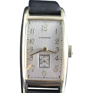 Longines Champlain Vintage Men's Swiss Watch 1939