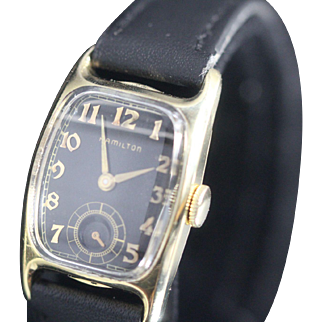 Hamilton Boulton Vintage Mens Watch 1941