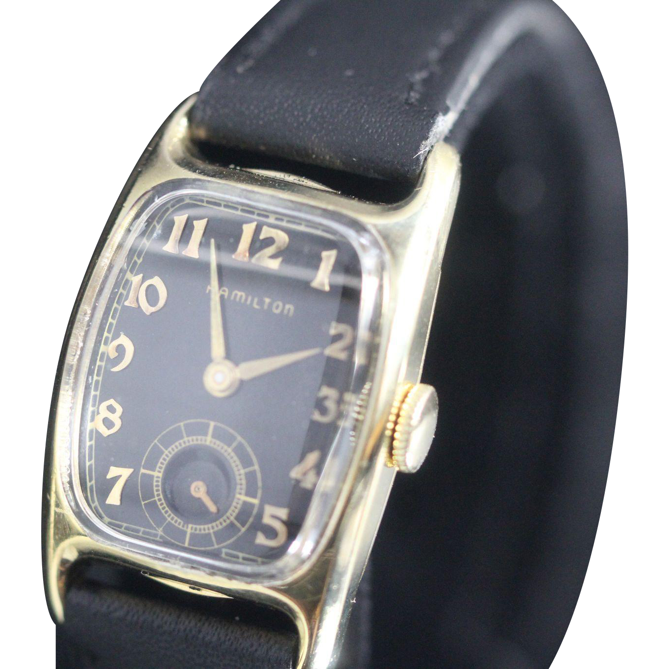 Hamilton Boulton Vintage Mens Watch 1941 From