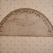 ANTIQUE Trompe Le Oil Painted Wall Hanging