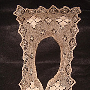 Victorian Lace Fichu Collar - Red Tag Sale Item