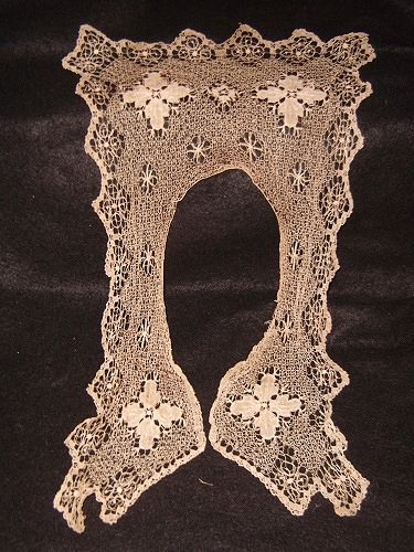 Victorian Lace Fichu Collar