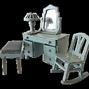 Old TootsieToy Vanity Set
