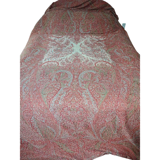 Antique Victorian Paisley Shawl 11+ Ft