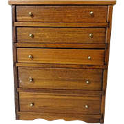 Shackman Doll House 5 Drawer Chest