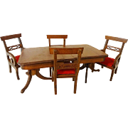 Vintage Shackman Dining Room Table and Chairs