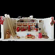 Doll House General Store Room - German
