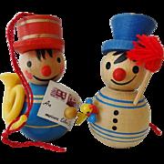 Vintage Steinbach Christmas Ornaments Germany