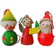 Vintage Steinbach Christmas Ornaments - Set